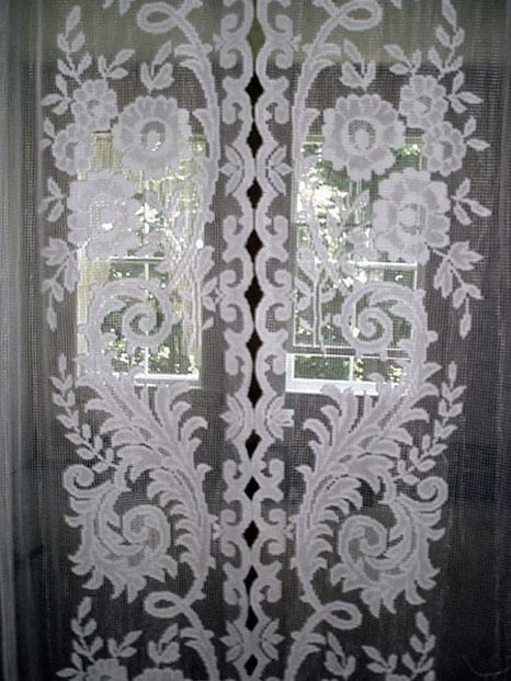 tambour lace curtains images