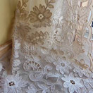 Vintage Tambour Lace Curtains